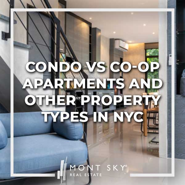 Condo vs Co-op Apartments and Other Property Types in NYC