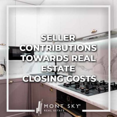 What are permissible seller contributions towards real estate closing costs in NYC? What are interested party contributions?