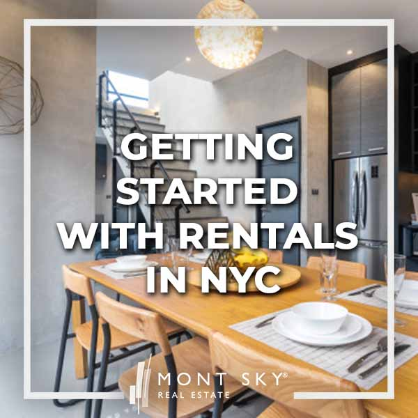 Getting started with rentals in NYC