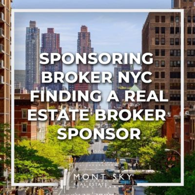 Finding a sponsoring broker in NYC can be a confusing process. You'll be faced with a plethora of choices ranging from recommendations from friends to advertisements you see online. What are some criteria you should look for when finding a sponsoring broker? What are some issues you should be wary of?
