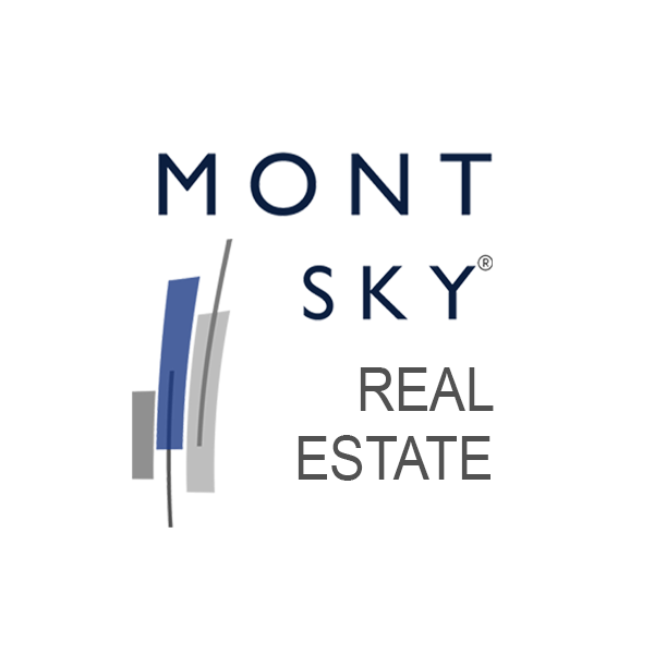 Mont Sky Real Estate Logo Circular