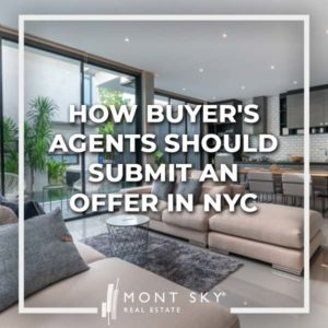 How to submit an offer in NYC is as easy as sending an email to the listing agent, but buyer's agents should be thorough when submitting an offer to buy.